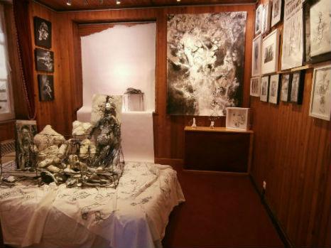 Exposition Fils, liens et conséquences - au Cabinet d`Art Contemporain - Haute-Marne