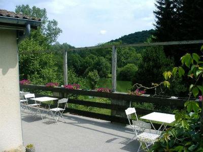 L`Orchidée Home - L'espace terrasse - Haute-Marne